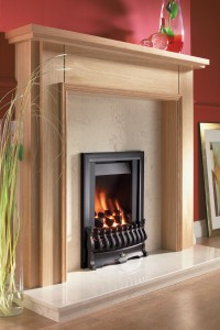 Flavel Stirling Black gas fire