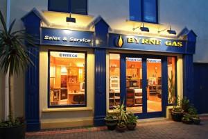 Byrne Gas Shop Front