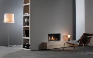 Faber Relaxed gas fire