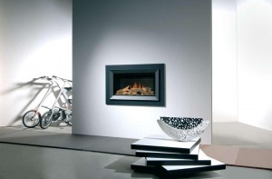 Faber Silence gas fire
